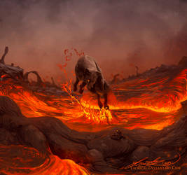 Vulpes Volcanis by Yacrical