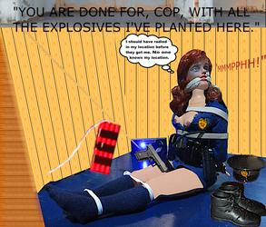 Officer Jane Jones Adventures THE WAREHOUSE PLOT by capodicapo