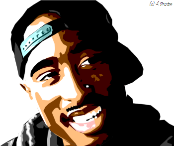 Tupac by srrh