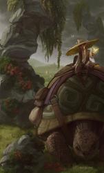 Tortoise rider