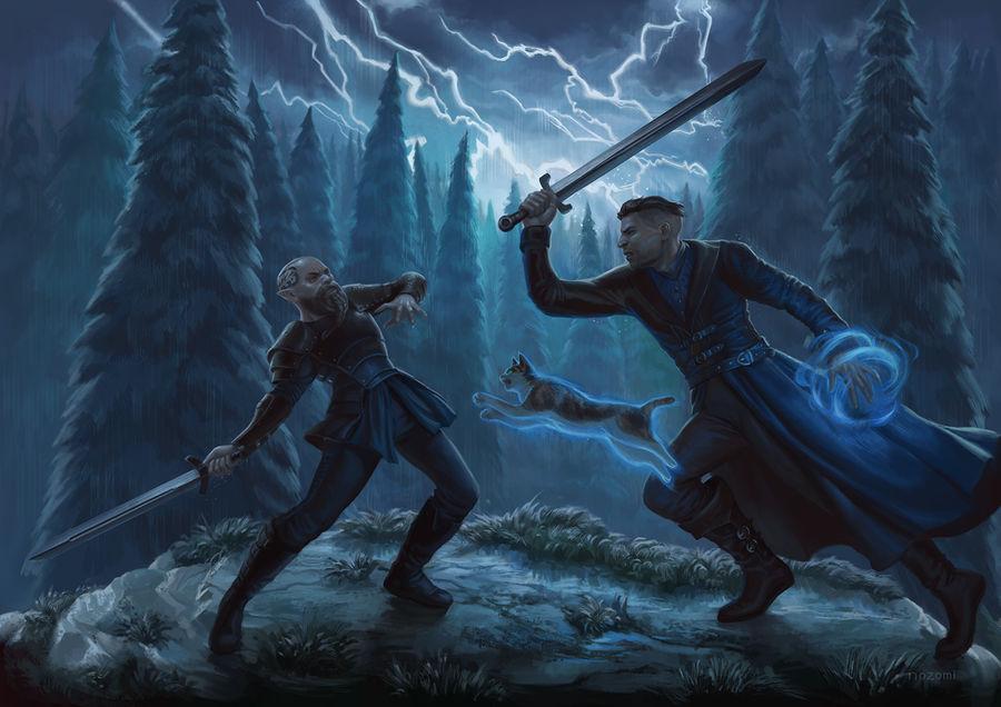 Commission- Sagrid and Raynard