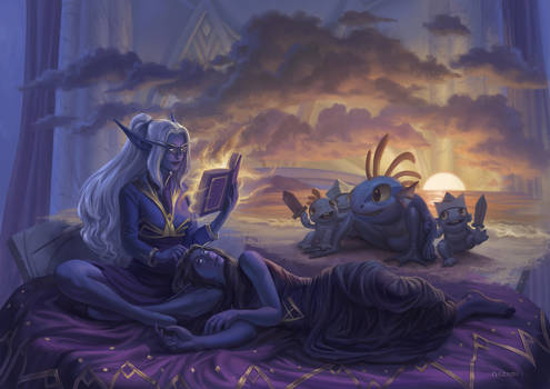 Commission- Story time
