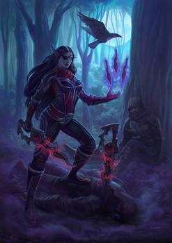 Commission- Rae'laia Ravenblade