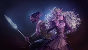 Commission-Celassa and Vaelthir