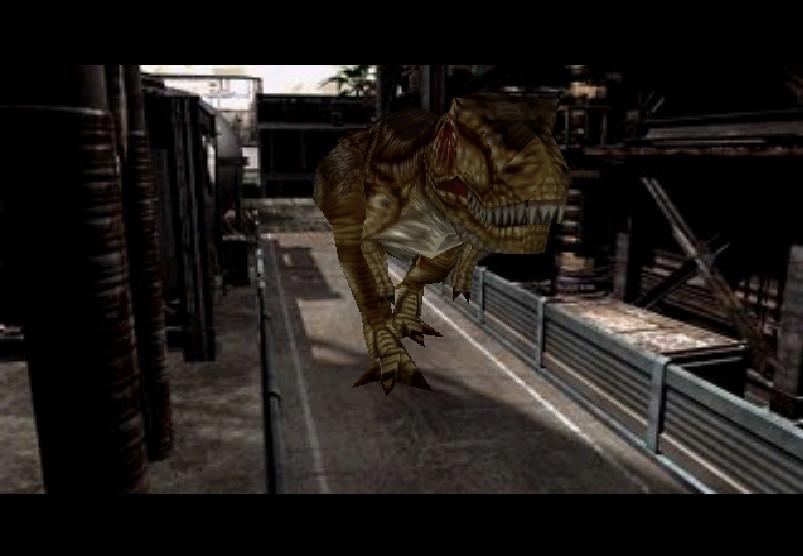 Dino crisis 2 T-Rex by Merchasaurus on DeviantArt