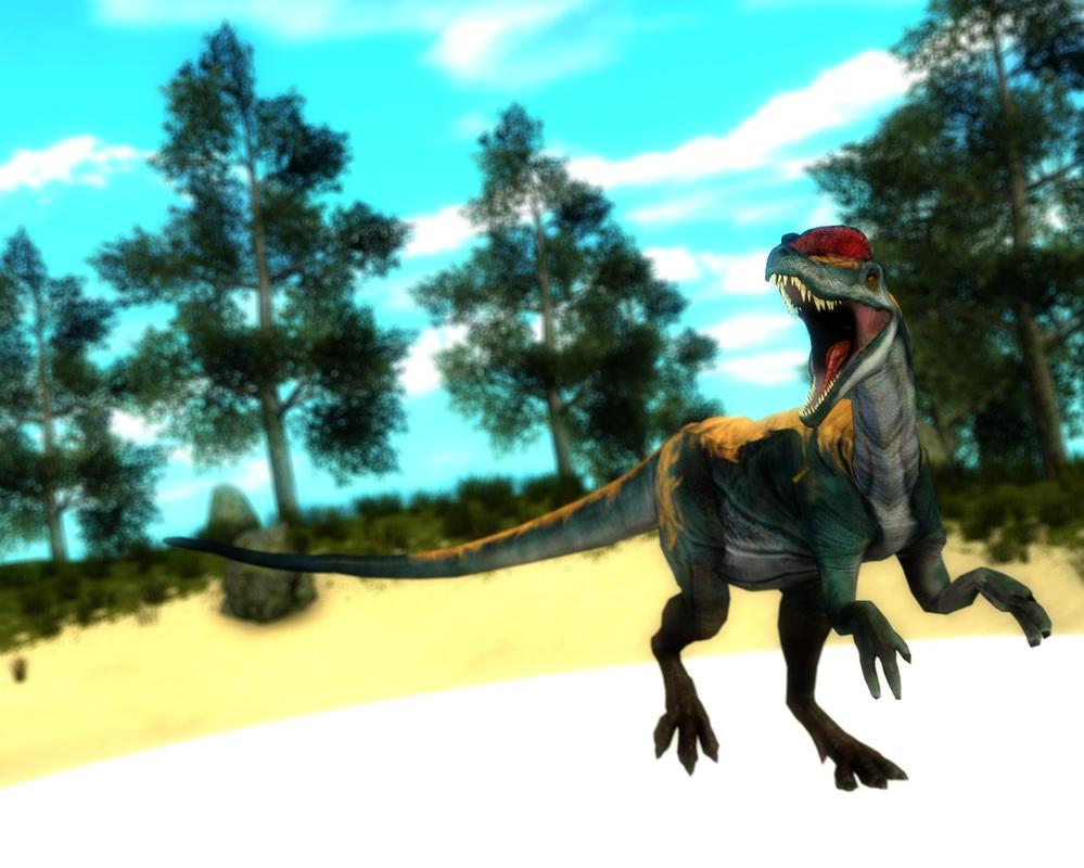dilophosaurus primal carnage - photo #2