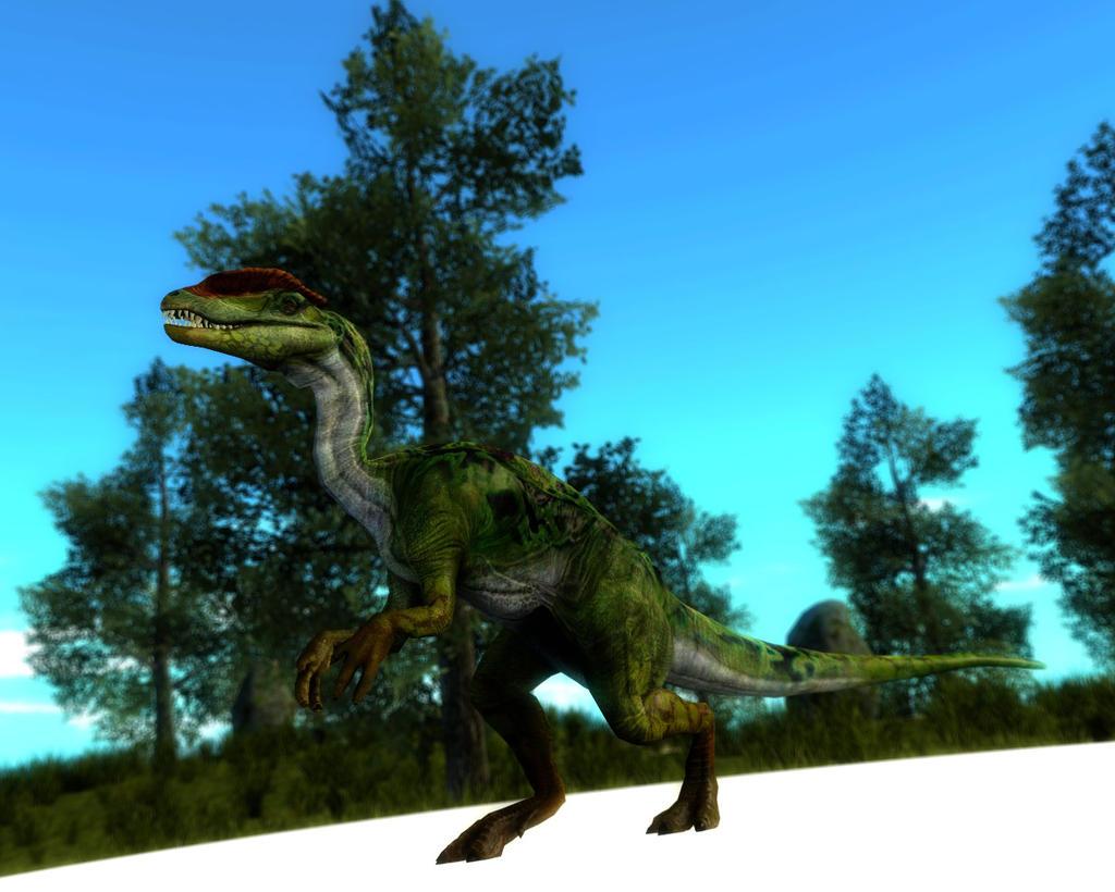 dilophosaurus primal carnage - photo #20