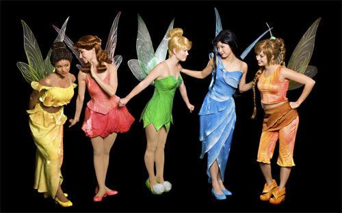 Disney Fairies take one