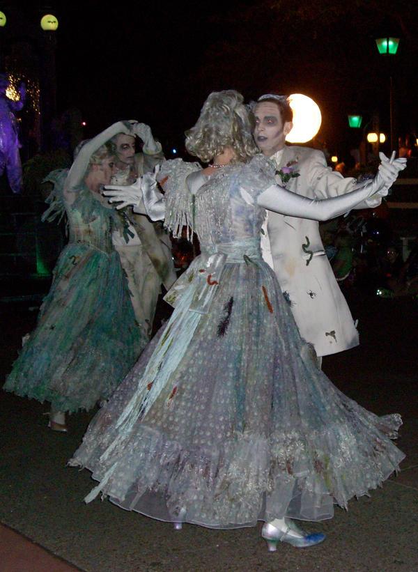 haunted mansion dancers by junkyardpicasso