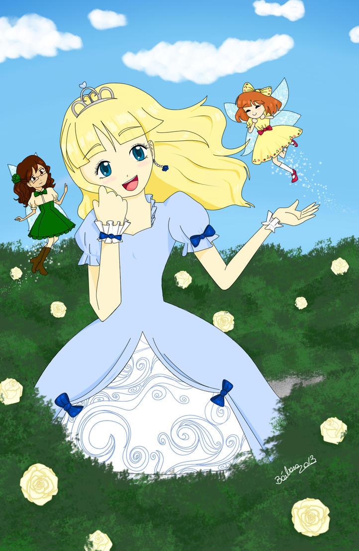 The Princess and The Fairies by Ichigo-Fujiwara