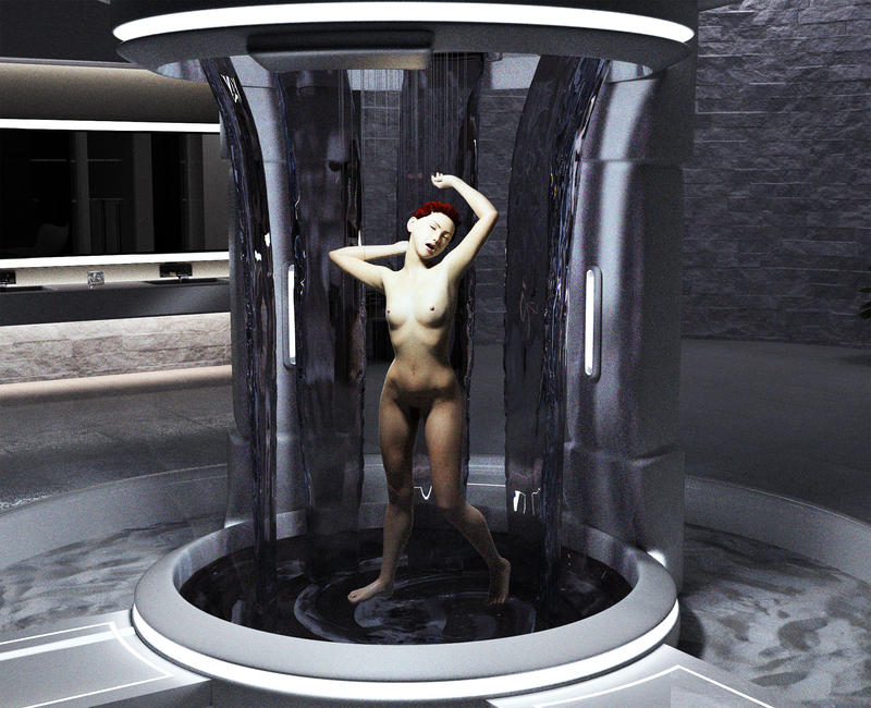 Shower Time by Doing-it-in-3d