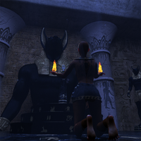 Worshipping Anubis by Steves-3D