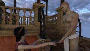 Rada meets her lover