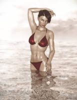 Water Babe Capture by Steves-3D