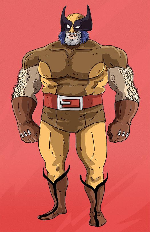 Wolverine by marmotagem