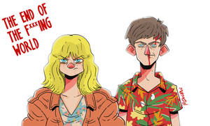 the end of the f *** ing world fanart