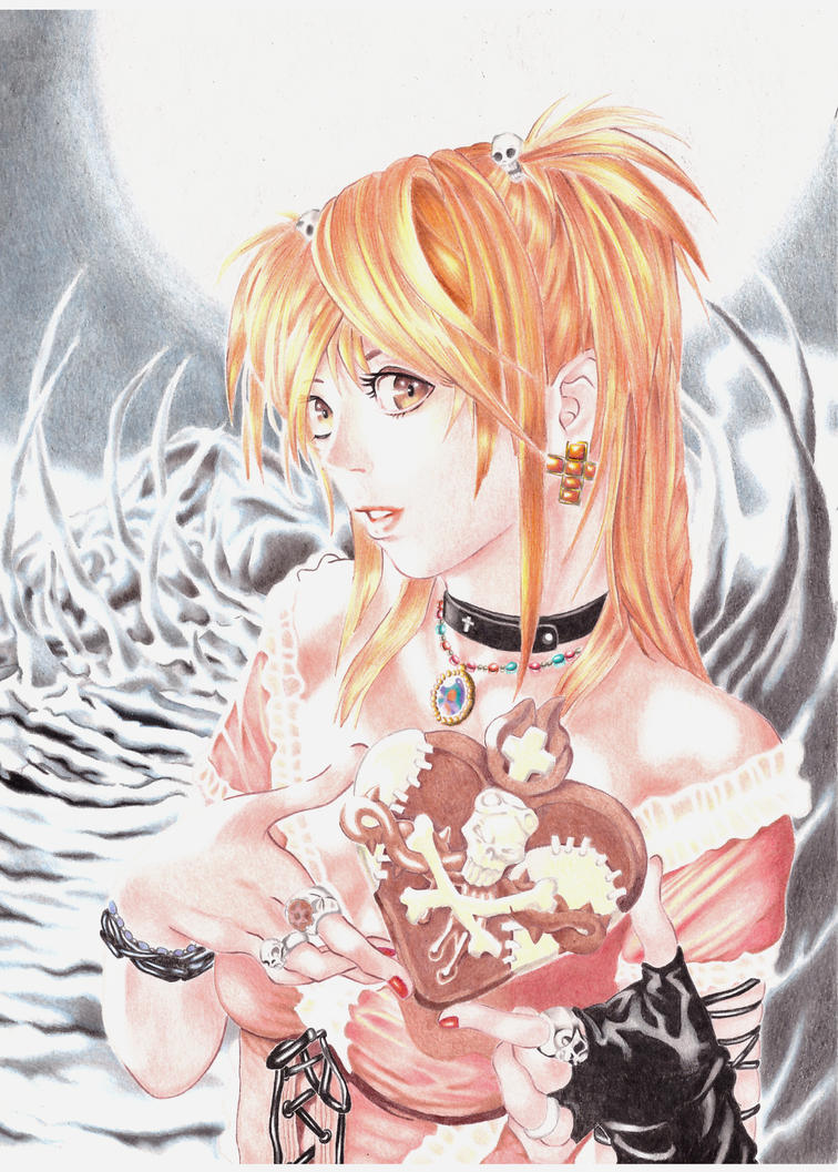 misa amane death note by allanviniciuus