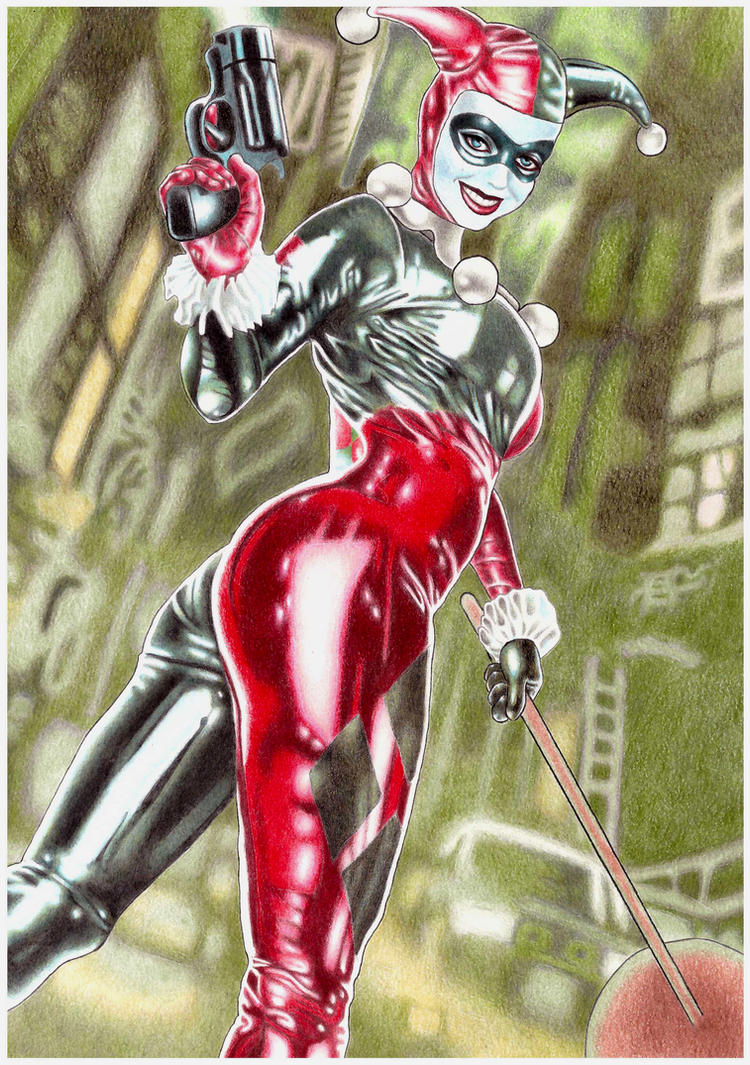 Harley  Quinn by allanviniciuus