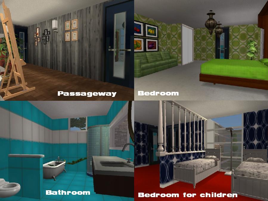 My Modern House 2nd Floor By Salmadurka On Deviantart