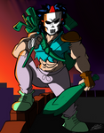 Casey Jones by Iyzeekiil