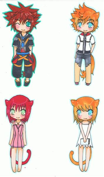 [COMMIS] Art commissions {TAMMY} OPEN Kingdom_hearts_keychains_by_Tamarah