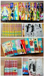For Sale: Vintage Manga Sets
