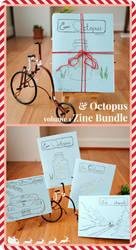 And Octopus Volume 1 Holiday Zine Bundle