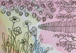 ATC May Flowers 2