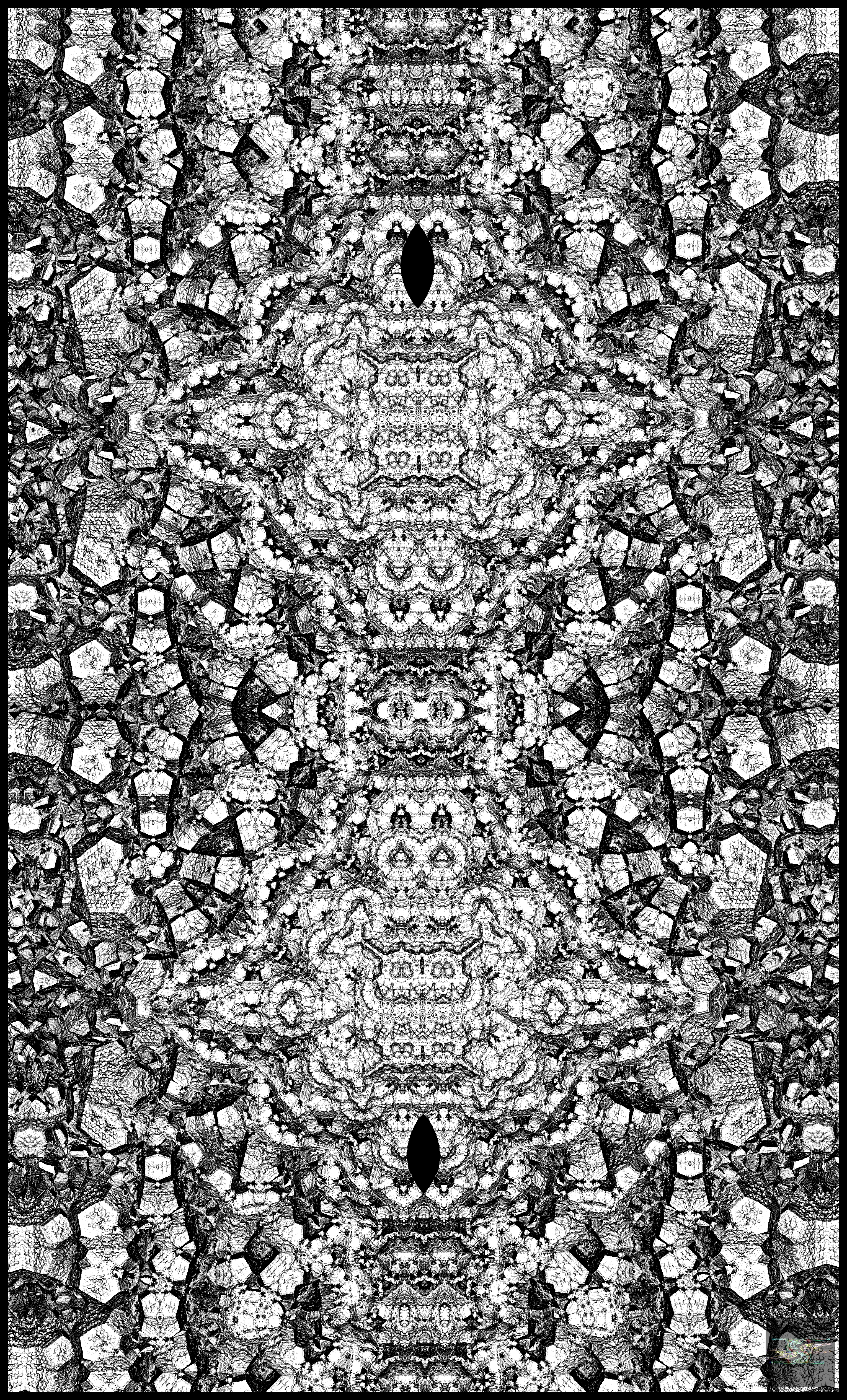 the giant fractal coloring challenge by spangler imagery on deviantart - Fractal Coloring Book