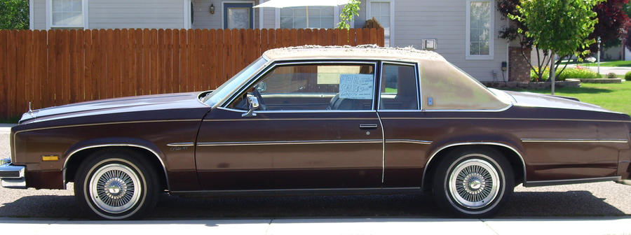1977 Olds Delta 88 Side View By Ryanwlf33 On Deviantart