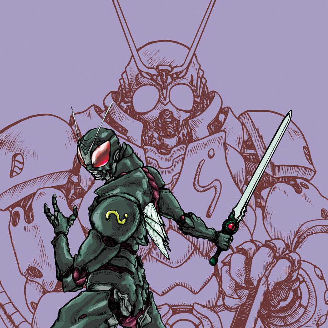 Mask Rider Black by Rawbot