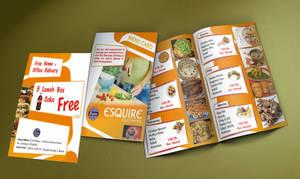 Esquire menu card