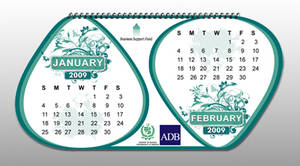 BSF table calendar inner page