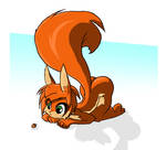 Scarlet Finds a Nut