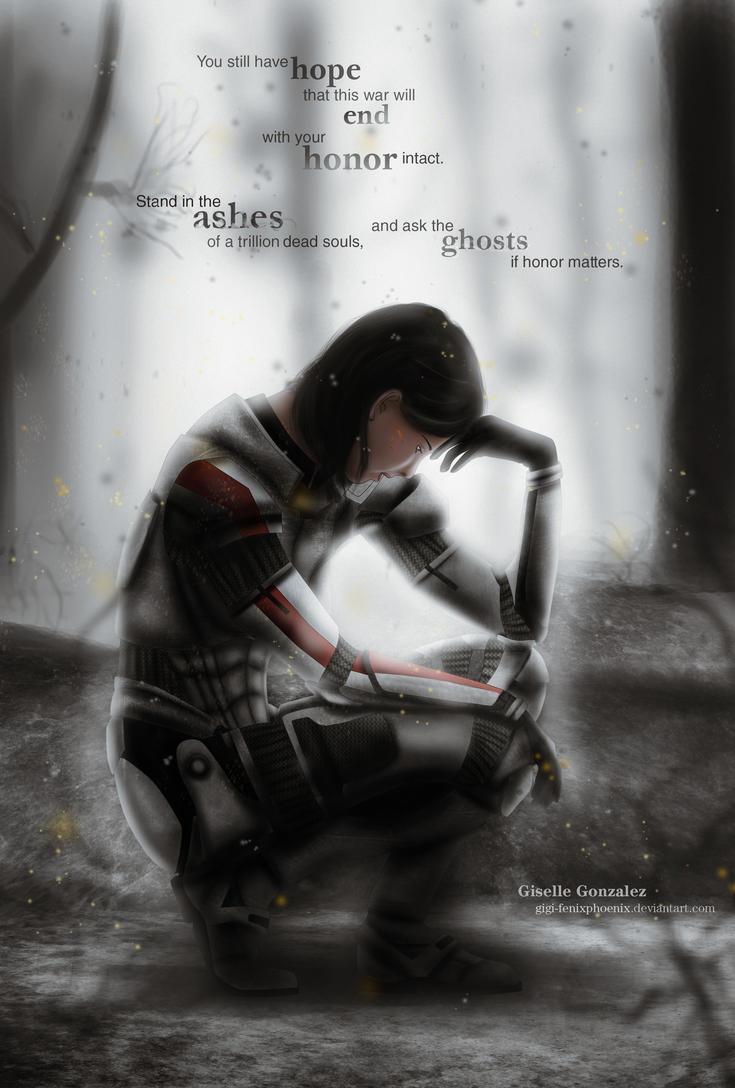 Commander Shepard Doubts by Gigi-FenixPhoenix