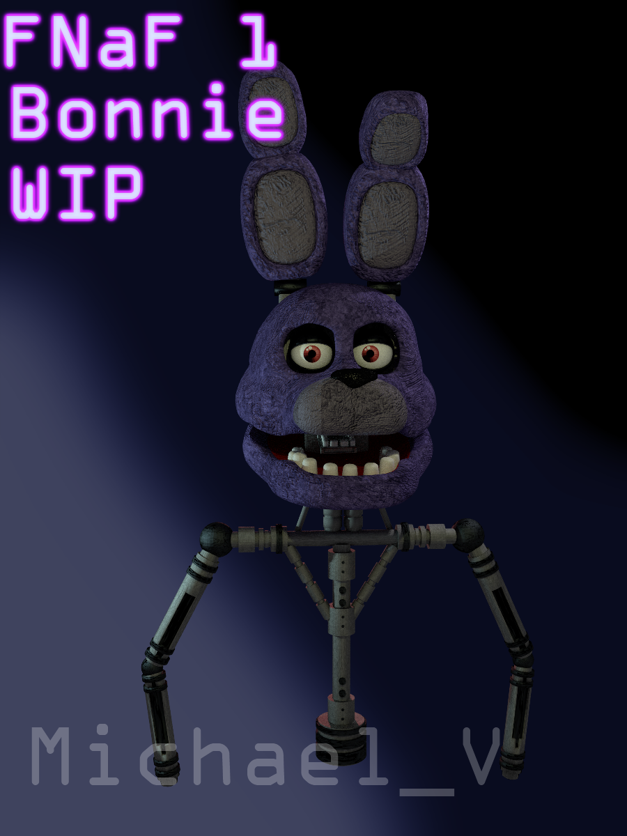 Fnaf 1 bonnie 3d model wip by michael v on deviantart fnaf 1 bonnie 3d model wip by michael v publicscrutiny Choice Image