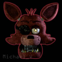 FNaF 1 Foxy model WIP by Michael-V
