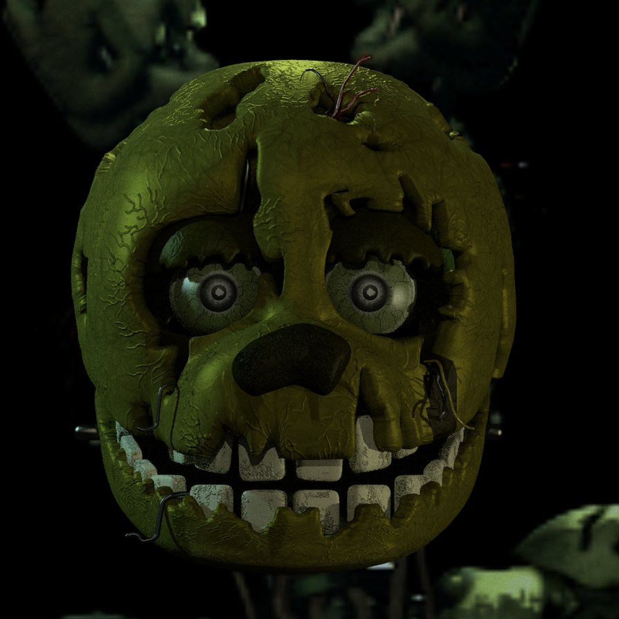 FNaF 3 Springtrap Early WIP By Michael-V On DeviantArt