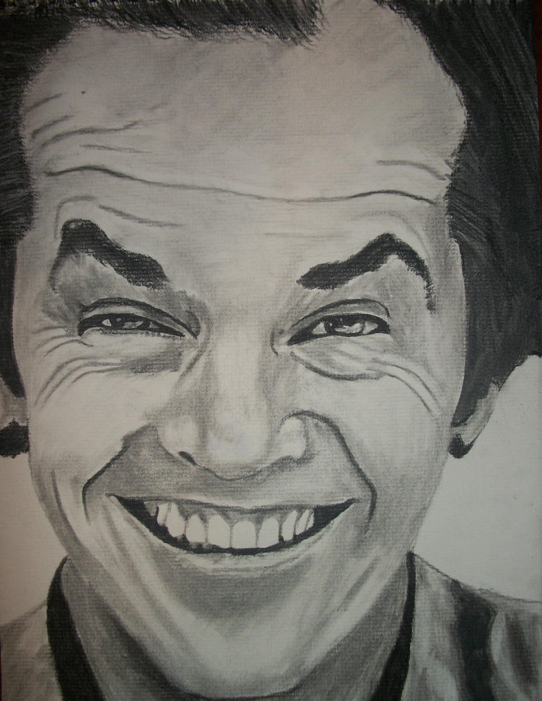 Jack Nicholson Drawing by