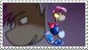 Dark Rayman - Stamp by Gav-Imp