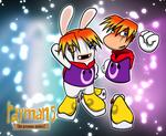 Rayman 5 - Wallpaper