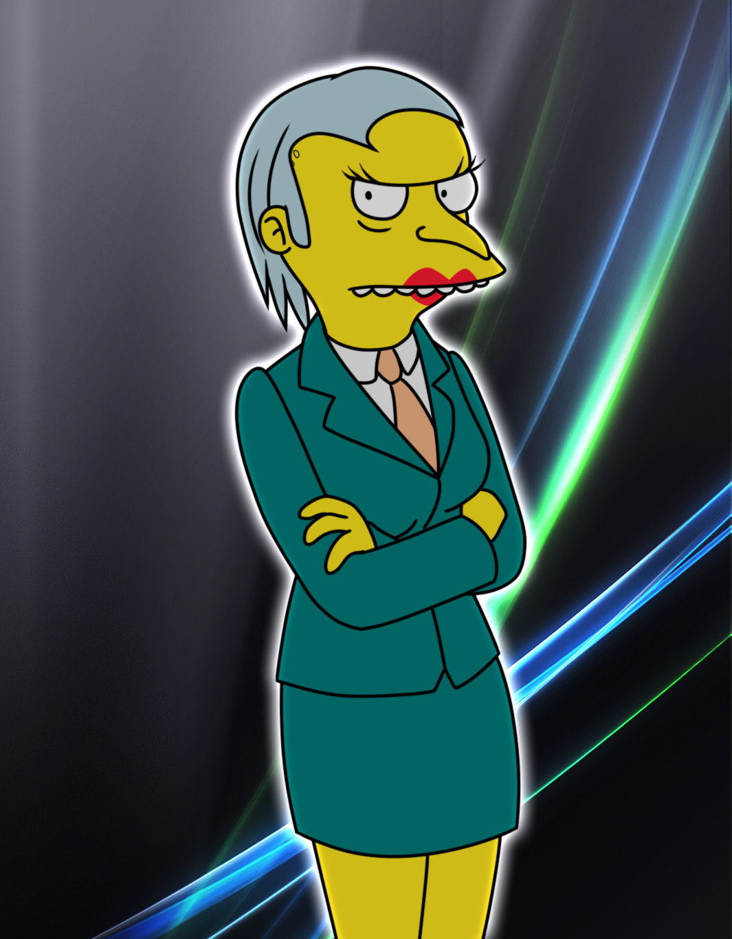 TS - Mrs. Burns by Gav-Imp