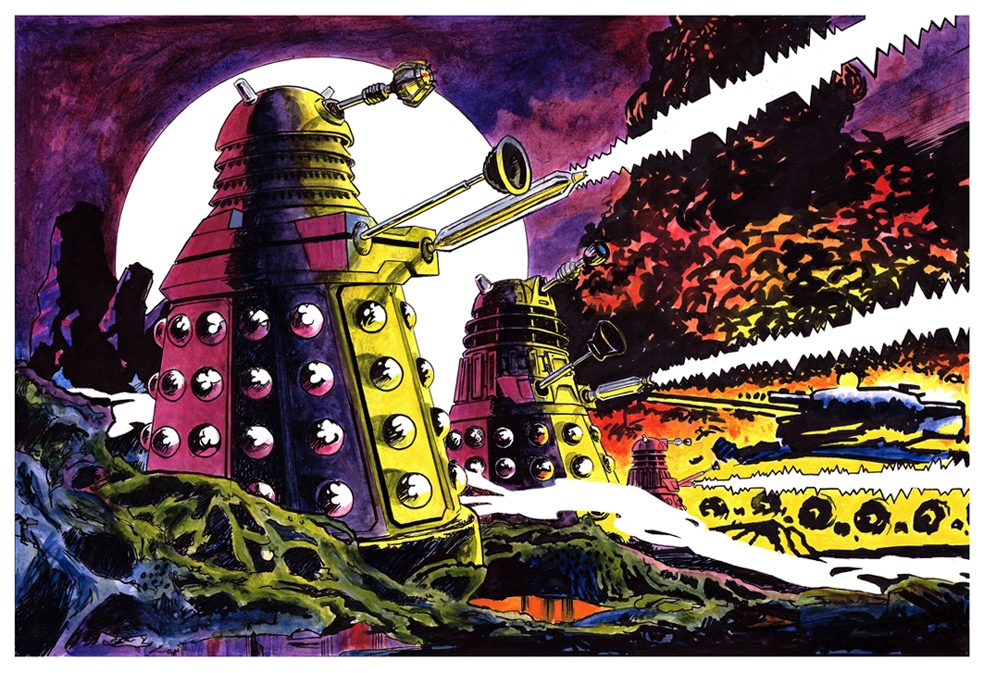 Daleks! by fresian-cat
