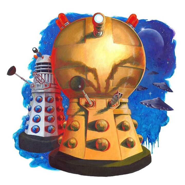 Dalek Attack! by fresian-cat