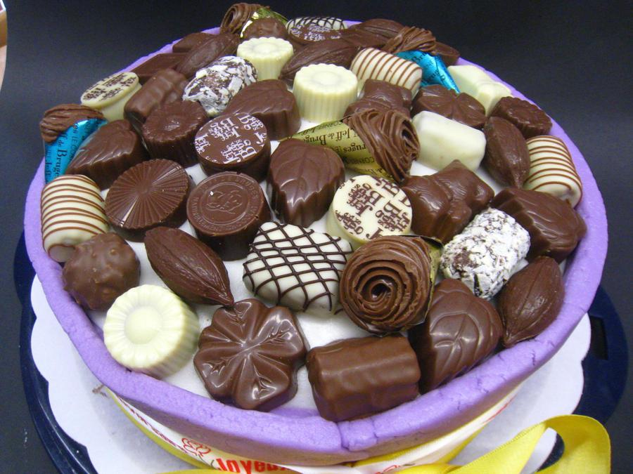 Box o' chocolates - top view by jo-margarita