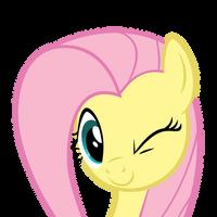 Fluttershy Wink by DrDraze