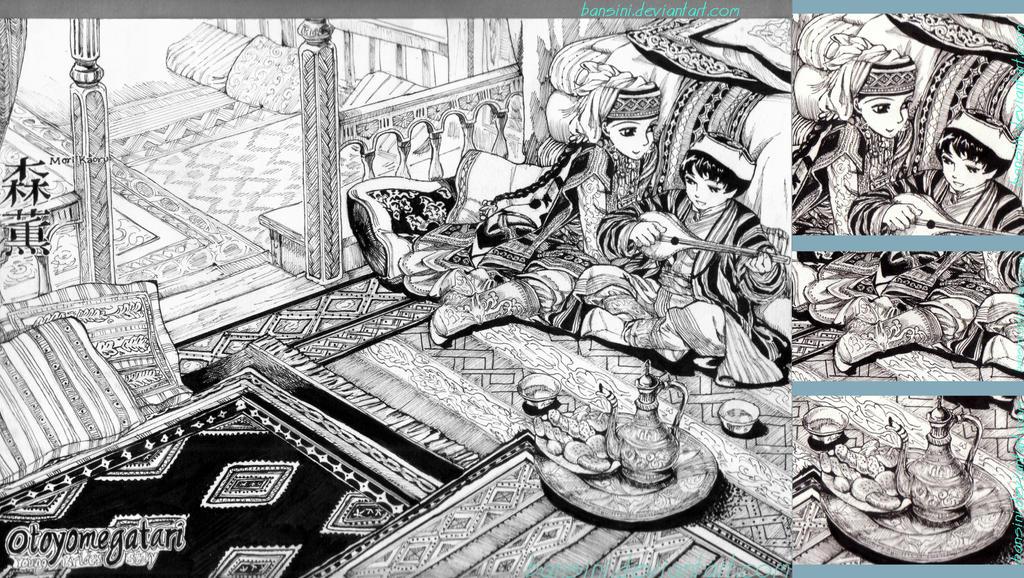 Otoyomegatari Observational Study By Bansini On Deviantart