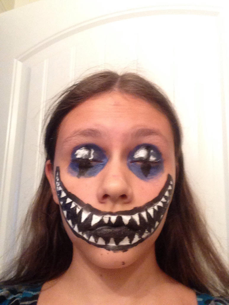 Cheshire Cat Face Paint