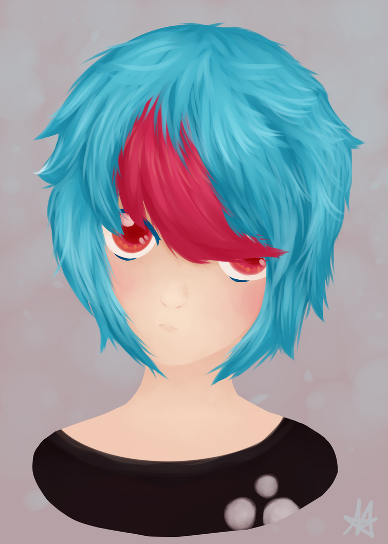 Nico - Human - Headshot ~ ! by Insane-Sanety