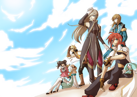Tales of the Abyss -- Flight by Ashikai